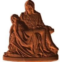 Pieta - Mary Holding Jesus - AB - 001