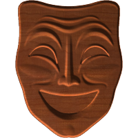 Theater Mask (Happy)