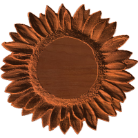 Plaque - Sunflower - AB - 001