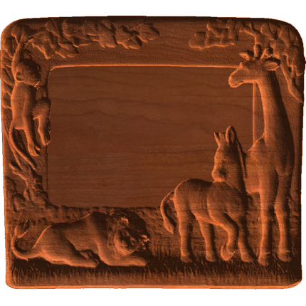 Frame - Zoo Animals From Africa - AB - 001