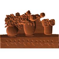 Flower Vases On Shelf - AB - 002