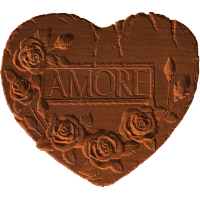 Amore Heart And Roses - AB - 001