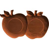 Plaque - Apple Pair - AB - 001