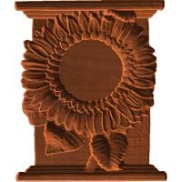 Clock- Sunflower - AB - 001