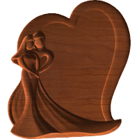 Plaque - Loving Couple - AB - 001