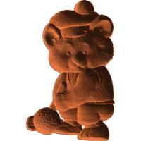 Bear Golfer - AB - 001