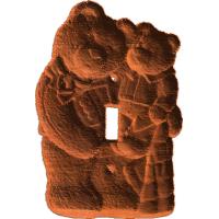 Teddy Bear Switch Plate - AB - 001