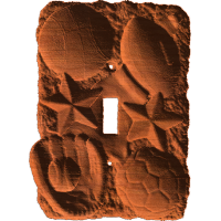 Sports Switch Plate - AB - 001