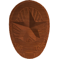 Sheriff Badge - AB - 001