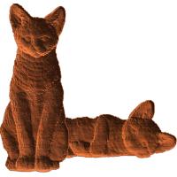 Cat Pair - AB - 004
