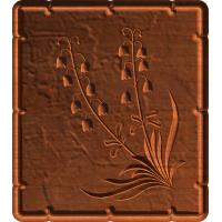 Decorative Flower patterns W/ Frame (Set 1-3)