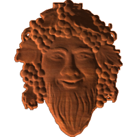 Bacchus - god of wine