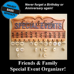 Family and Friends Event Organizer