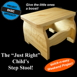 Just Right Child's Step Stool