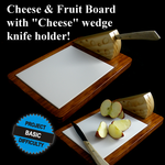 Cheese Board with Knife Holder