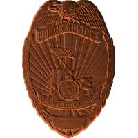 Marine Corps Police With Logo