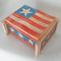 Americana Flag Box