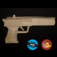 Rubber Band Handgun