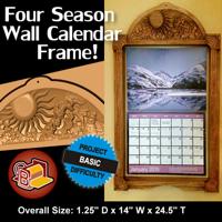 Four Season Calendar Frame