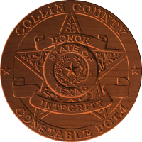 Collin County Star Badge