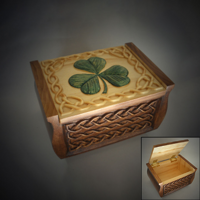 Celtic Irish Charm Box