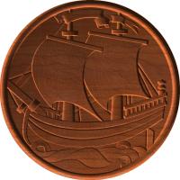 Pirate Ship Circular