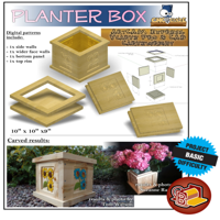 Patio Flower Box
