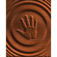 Abstract Handprint