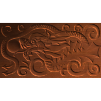 Dragon Swirl Design