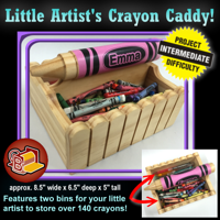 Little Artist's Crayon Caddy
