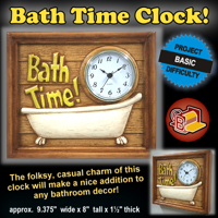 Bath Time Clock