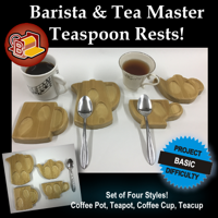 Barista and Tea Master Teaspoon Rests