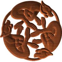 The Celtic Hounds Pattern