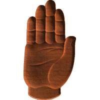 Hand Symbol Pattern