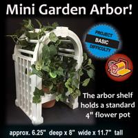 Mini Garden Arbor
