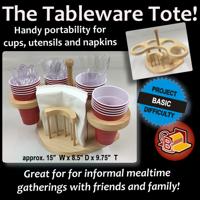 Tableware Tote