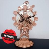 Filigree Clock
