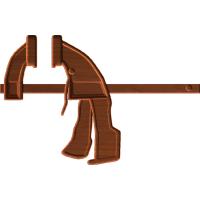 one hand bar clamp