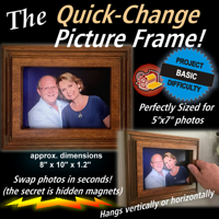 Quick-Change Picture Frame