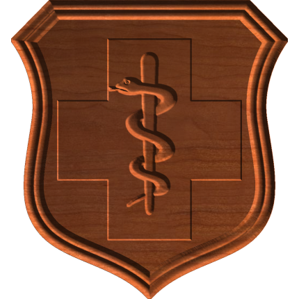 AF Medical Badge No Star Wreath