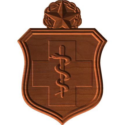 AF Medical Badge Pattern