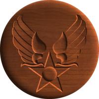 Hap Arnold Army Air Corp Emblem