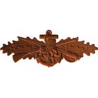 Seabee Combat Warfare Pin Pattern
