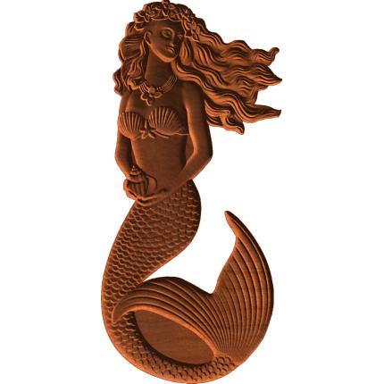 Flower Mermaid Pattern