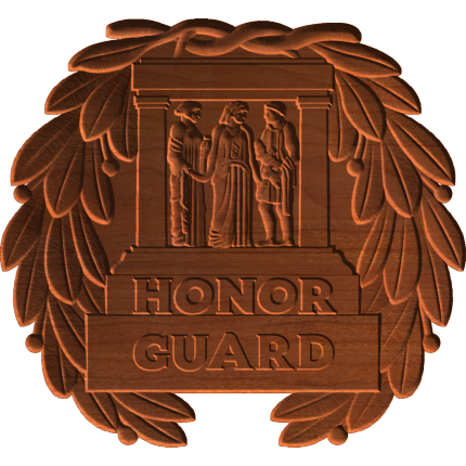 Honor Guard Plaque Pattern
