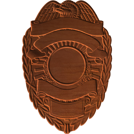 Police Badge 3 Pattern