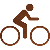 Stick Figure-Biking